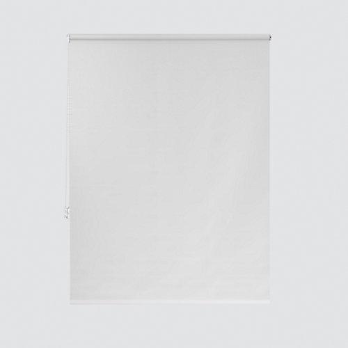 Estor enrollable opaco nash blanco de 64x190cm