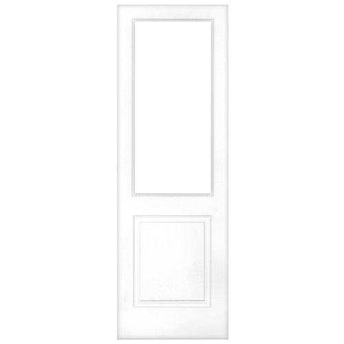Puerta de interior corredera bonn blanco de 82.5 cm