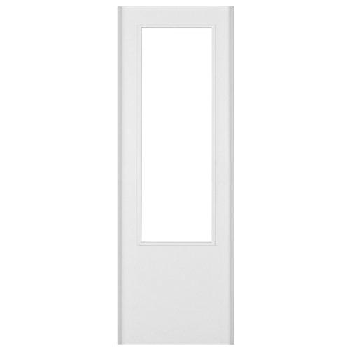 Puerta de interior corredera lyon blanco de 72.5 cm