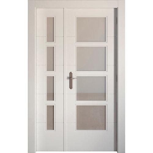 puerta lucerna blanco de apertura derecha de 115 cm