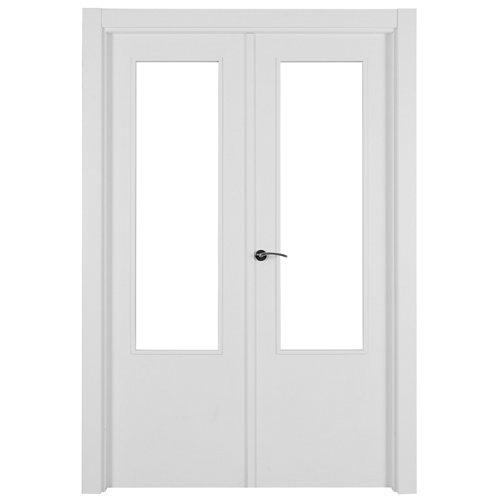 puerta lyon blanco de apertura derecha de 145 cm