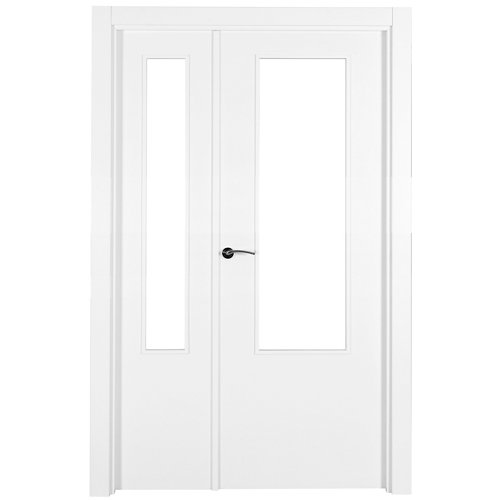 puerta lyon blanco de apertura derecha de 105 cm