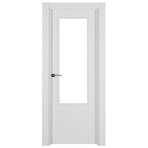 Puerta lyon blanco de apertura derecha de 72.5 cm