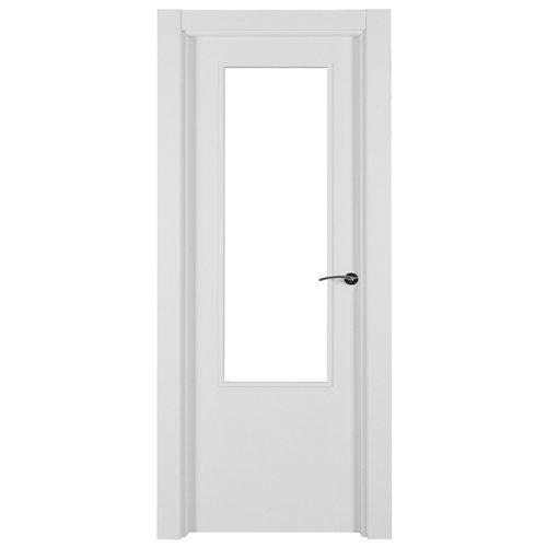 Puerta lyon blanco de apertura izquierda de 72.5 cm