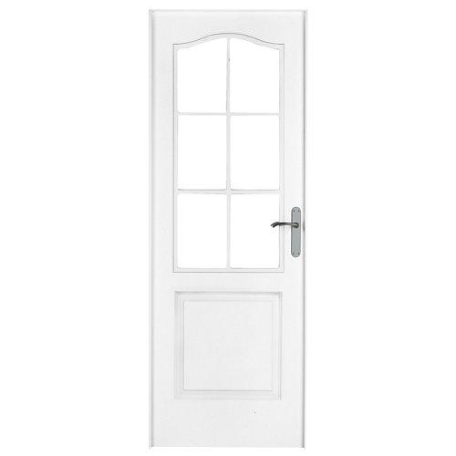 Puerta praga blanco de apertura izquierda de 72.5 cm