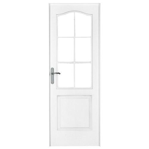 puerta praga blanco de apertura derecha de 82.5 cm