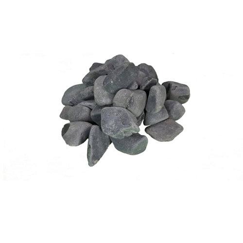 Saco de cantos rodados negro 20kg 25 y 40 mm