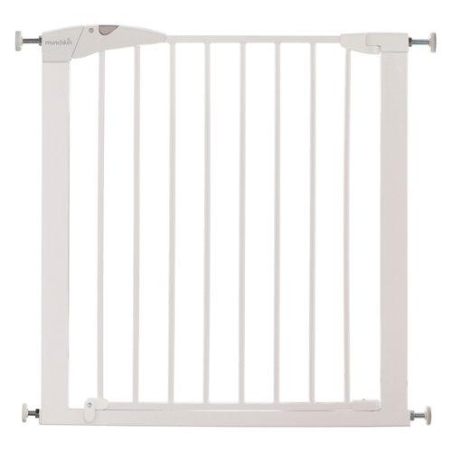 Valla de seguridad maxi secure infantil de metal con puerta de 76-82 cm