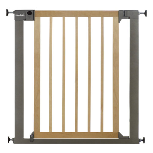 Valla de seguridad easy close infantil de metal con puerta de 76-82 cm