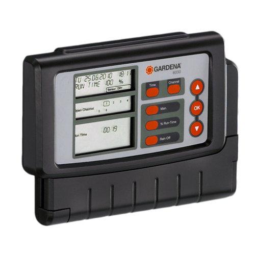 Programador eléctrico para electroválvulas gardena de 4 vía(s)