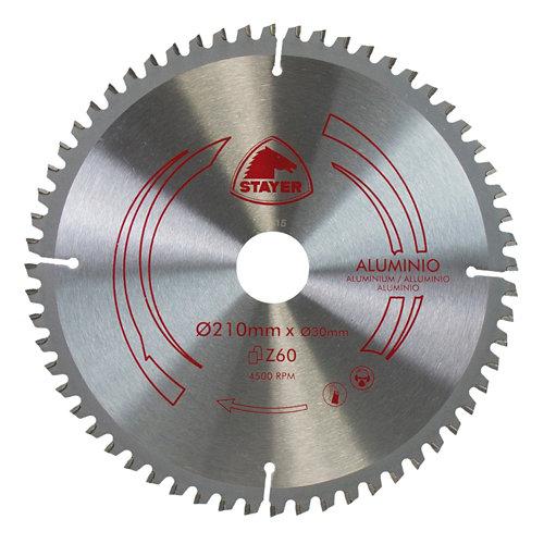 Disco widia stayer de calibre 30 mm para trabajar aluminio