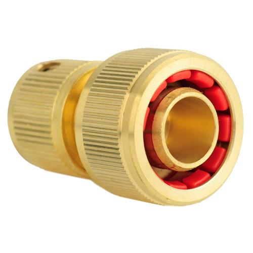 Conector natrain de latón 19mm