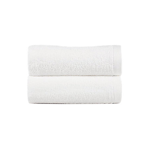 Toalla de algodón blanco 100 x 150 cm