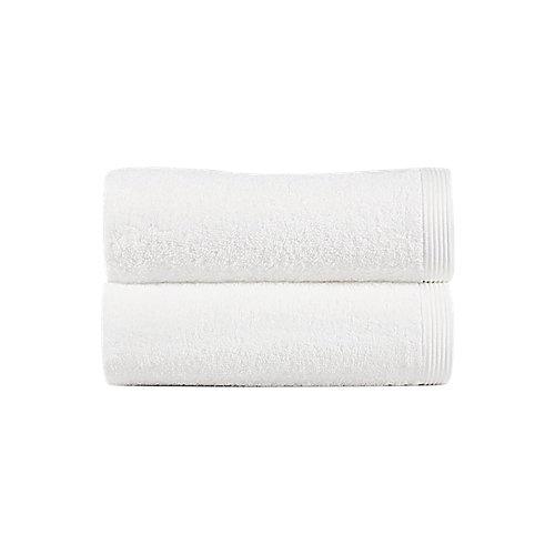 Toalla de algodón blanco 30 x 50 cm