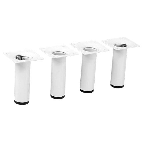 4 pata fija de acero para mueble hasta 10 cm