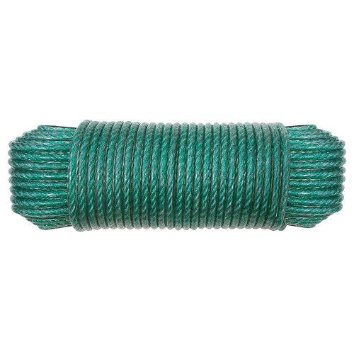 Cuerda cableada de polietileno de 25 m y carga max. 95 kg