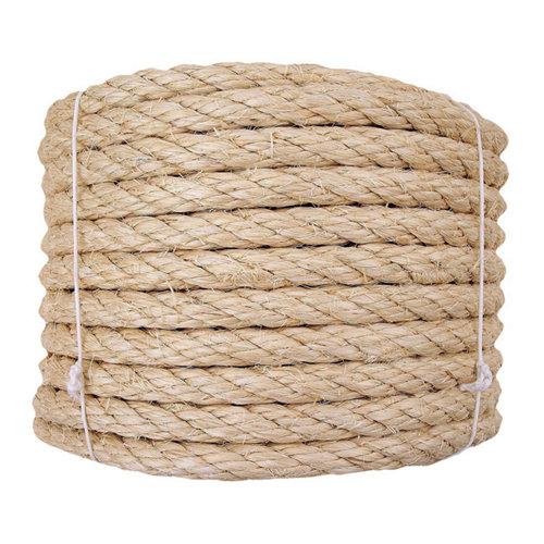 Cuerda cableada de sisal de 25 m y carga max. 936 kg