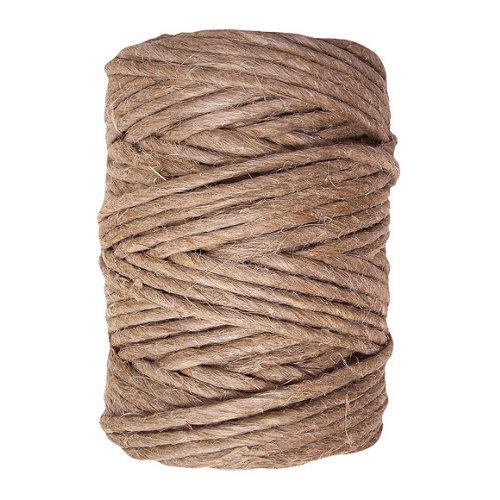 Cuerda cableada de cáñamo de 48 m y carga max. 55 kg