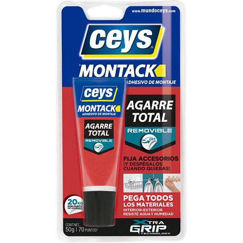 Adhesivo de montaje montack desmontable 50 gr