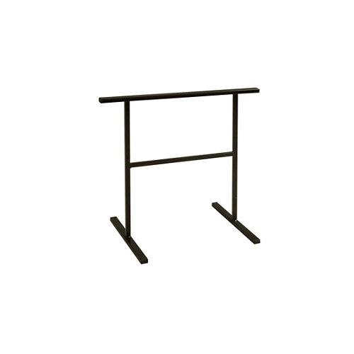 Caballete de acero negro y altura de 75 cm