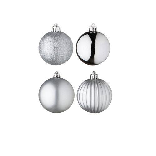 Set de 34 bolas de navidad