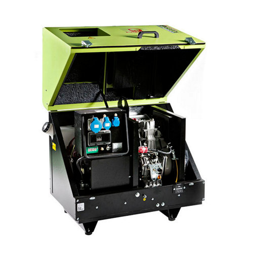 Generador pramac p6000 diésel de 4400 w