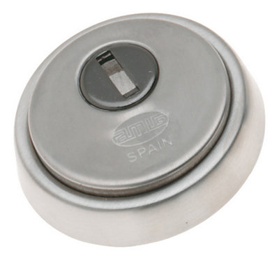 10 escudos calefactores cromados 22 mm