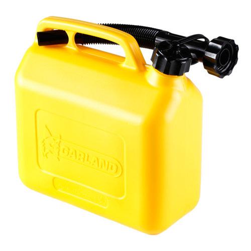 Bidón para gasolina garland de plástico 5 litros de capacidad