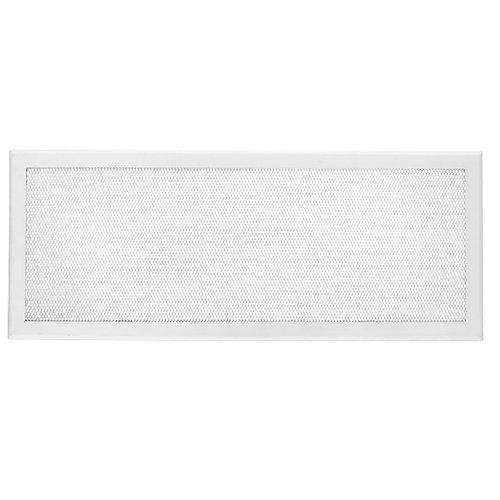 Rejilla rústica 50x20 cm blanco