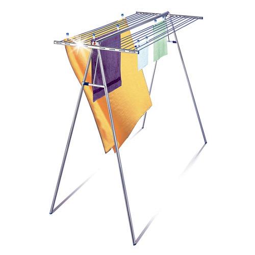 Tendedero de alas de aluminio 13x12x200 cm