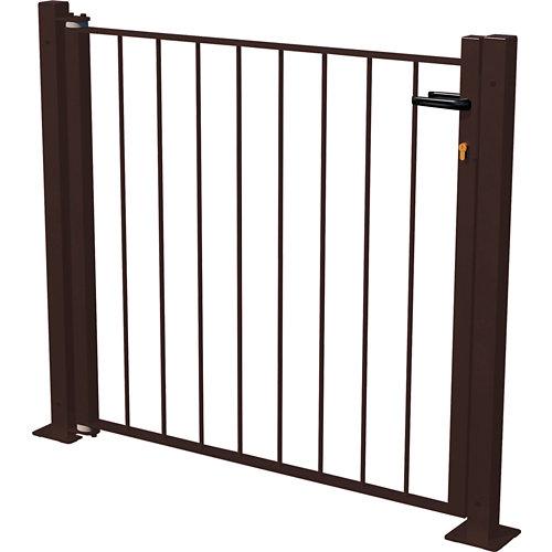 Kit puerta briconadal 116x93,5 cm negra