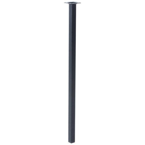 Pata fija de acero hasta 70 cm