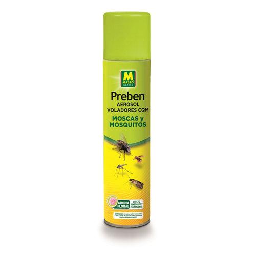 Insecticida aerosol massó interior / exterior por contacto