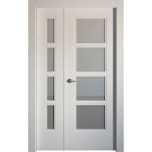 puerta holanda blanco de apertura derecha de 115 cm