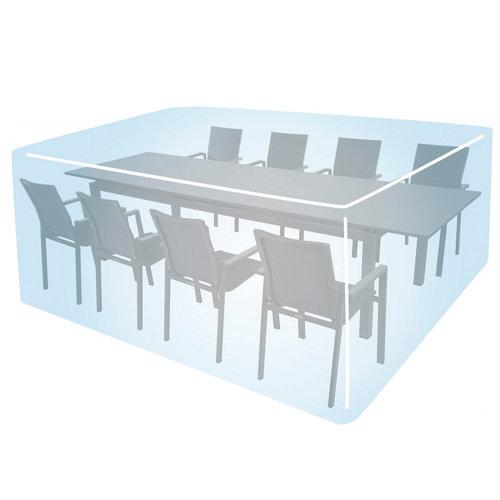 Funda de protección para mesa y sillas de poliéster 234x152x104 cm
