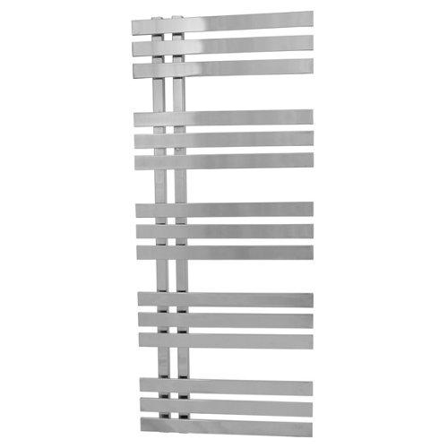Radiador toallero eléctrico zeta verona 120/50 cromado