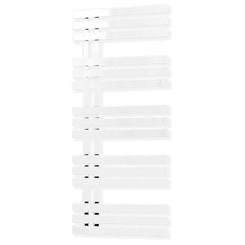 Radiador de agua toallero cicsa deco verona 50x120 cm blanco