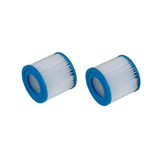 Pack de 2 unidades de cartucho para filtro de 1135 l/h