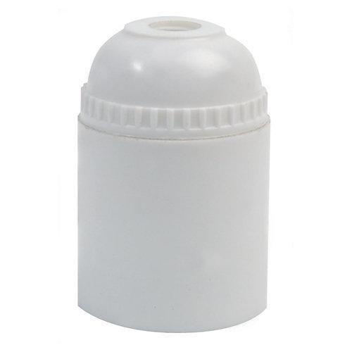Casquillo de plástico e-27 simon blanco