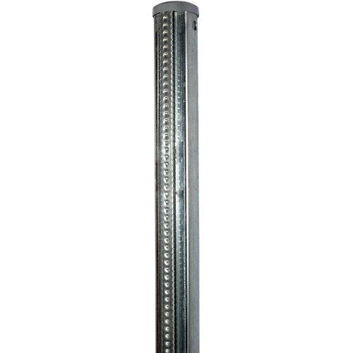 Poste de acero quickfix universal 130 cm d48 mm galvanizado