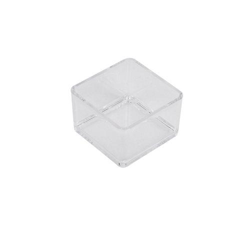Caja puzzle incoloro / transparente 7.6x5 cm