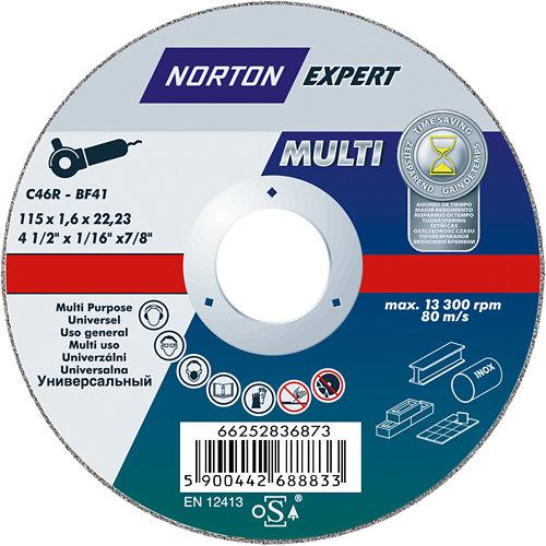 Disco multi-usos norton expert 115 mm