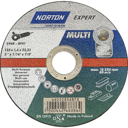 Disco multiusos norton de 125 mm