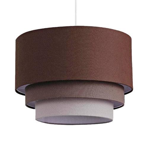 Lámpara de techo triet marrón 1 luz