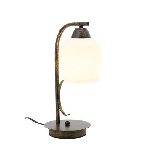 Lámpara de mesa campanas cobre