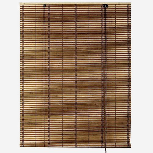 Estor enrollable de bambú kenya beige inspire de 150x300cm
