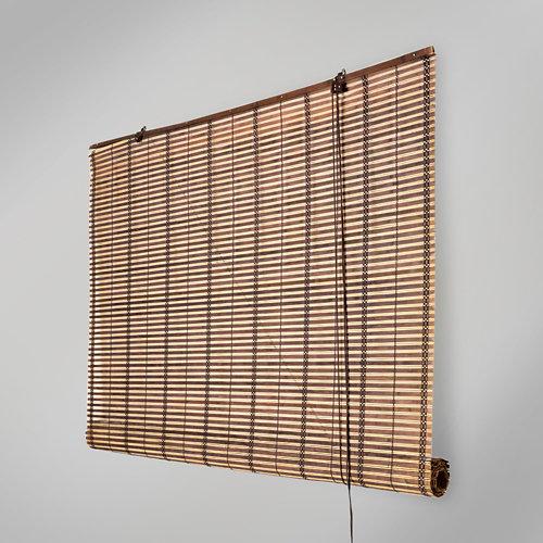 Estor enrollable de bambú kenya beige inspire de 100x160cm