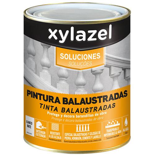 Pintura para balaustradas mate blanca xylazel de 0,75l
