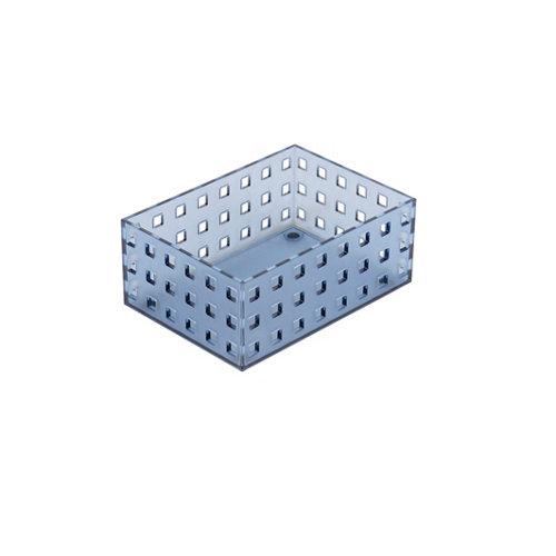 Caja ordenación azul 16x6.5 cm
