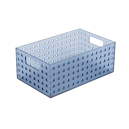 Caja ordenación azul 28x11 cm